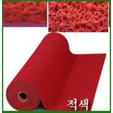 에코쿠션매트A-TYPE(내부용)10mm/흙먼지유입방지 및 미끄럼방지/적색