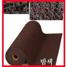 에코쿠션매트A-TYPE(내부용)10mm/흙먼지유입방지 및 미끄럼방지/밤색