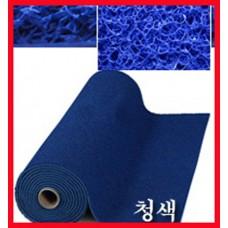 에코쿠션매트A-TYPE(내부용)10mm/흙먼지유입방지 및 미끄럼방지/청색