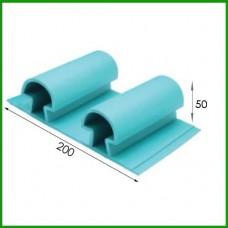 난연고무안전리브 / 선수보호벽 / Safety Wall Rubber Panel / RL50 type / 1㎡기준임