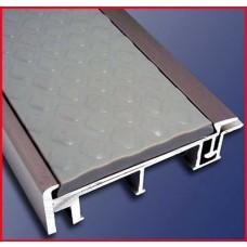 고무조립 알미늄미장논슬립 KL-502,습식미장용,50x15mm,다이아몬드형 고무