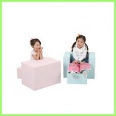 아이소파 파스텔 소파책상 IPSD-02 /유아체육 플레이매트 놀이방매트