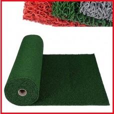 에코쿠션매트 C-TYPE 외부용15mm/흙먼지유입방지 및 미끄럼방지/녹색